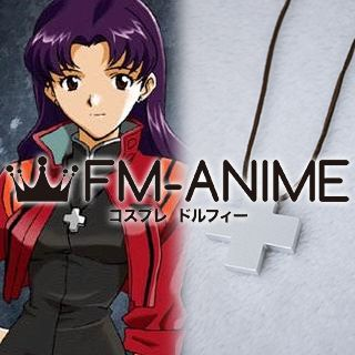 Neon Genesis Evangelion Misato Katsuragi Necklace Cosplay Accessories