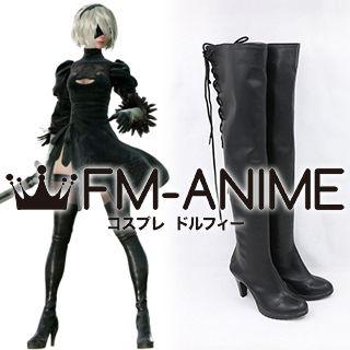 Nier: Automata 2B YoRHa No.2 Type B Cosplay Shoes Boots
