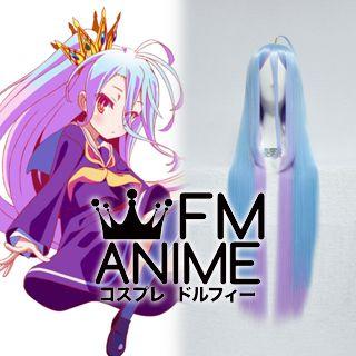 No Game No Life Shiro Cosplay Wig (Anime Version)