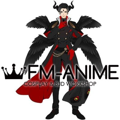 Obey Me! Lucifer Demon Look Cosplay Costume