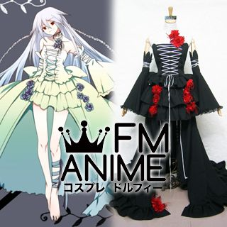 Pandora Hearts Intention of the Abyss / Alice Cosplay Costume (Black)