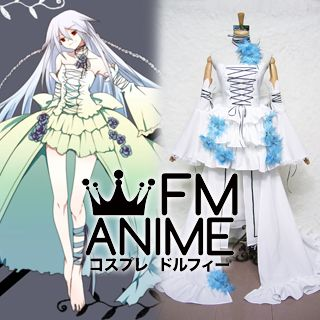 Pandora Hearts Intention of the Abyss / Alice Cosplay Costume (White)