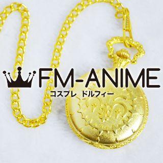 Pandora Hearts Oz Vessalius Gold Pocket Watch Cosplay Accessories Props