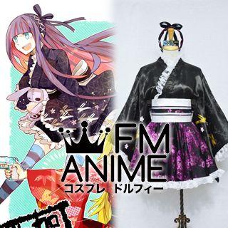 Panty & Stocking with Garterbelt Stocking Dojin Kimono Cosplay Costume