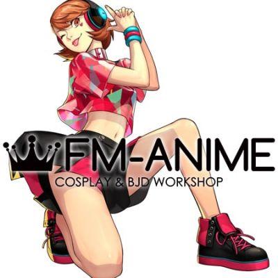 Persona 3: Dancing Moon Night Yukari Takeba Initial Cosplay Shoes