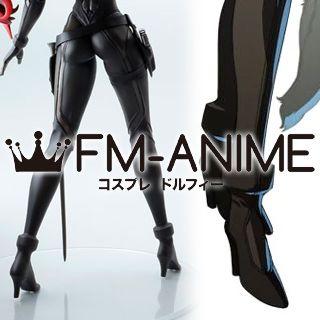 Shin Megami Tensei: Persona 4 Arena: Mitsuru Kirijyou Cosplay Shoes Boots