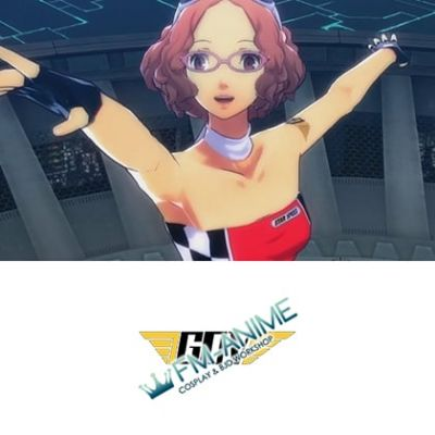 Persona 5: Dancing Star Night Racing Queen Cosplay Tattoo Stickers