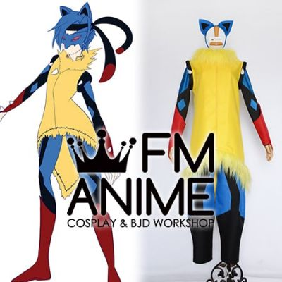 Pokemon Mega Lucario Human Cosplay Costume
