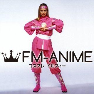 Super Sentai Series Power Rangers Pink Ninjetti Ranger Cosplay Costume