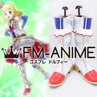 PriPara Fuwari Midorikaze PriPari of Flowers Blanc Coord Cosplay Shoes Boots