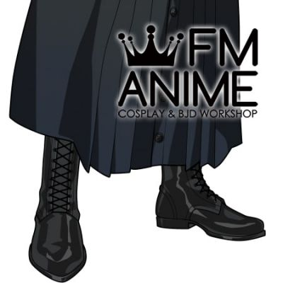 Promise of Wizard Faust Cosplay Shoes Boots