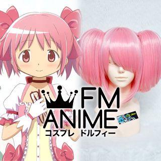 Puella Magi Madoka Magica Madoka Kaname Cosplay Wig #1 (Light Pink)