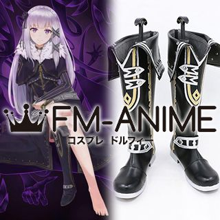 Re:ZERO -Starting Life in Another World- Satella Cosplay Shoes Boots