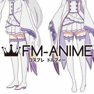 Re:ZERO -Starting Life in Another World- Emilia Cosplay Shoes Boots