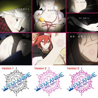 Rokka: Braves of the Six Flowers Cosplay Tattoo Stickers