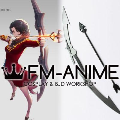 RWBY Cinder Fall Bow Sword Arrow Cosplay Prop Weapon