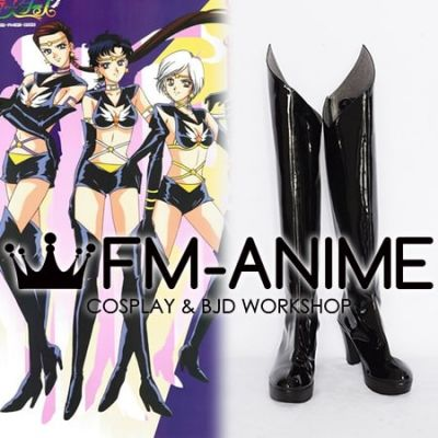 Sailor Moon Kou Yaten Sailor Star Healer Kou Taiki Sailor Star Maker Seiya Kou Sailor Star Fighter Cosplay Shoes Boots