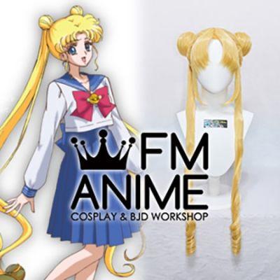 Sailor Moon Usagi Tsukino Cosplay Wig (Gold / Yellow / Silver)