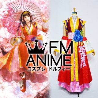 [Display] Samurai Warriors 2 Izumo no Okuni Cosplay Costume