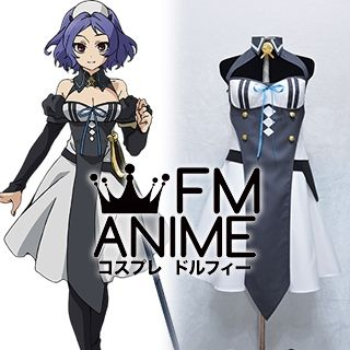 Seraph of the End Chess Belle Dress Cosplay Costume