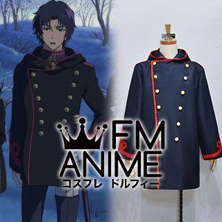 Seraph of the End Guren Ichinose Military Uniform Cosplay Costume Coat Cloak Cape