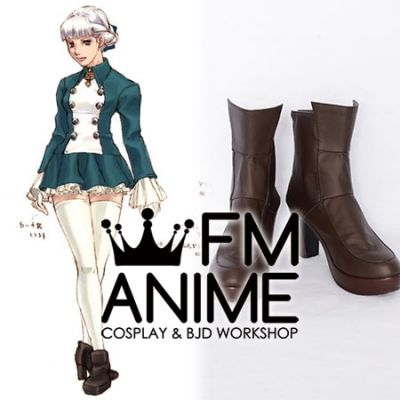 Shadow Hearts Alice Elliot Cosplay Shoes Boots
