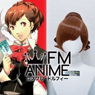 Shin Megami Tensei: Persona 3 Female Protagonist Miyuki Akemi Cosplay Wig