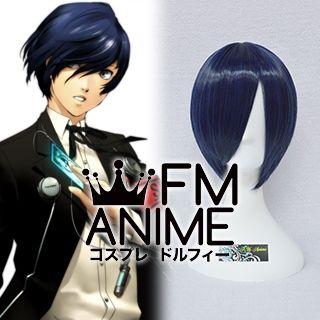 Shin Megami Tensei: Persona 3 Male Protagonist Makoto Yuki Cosplay Wig