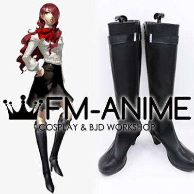 Shin Megami Tensei: Persona 3 Mitsuru Kirijo Cosplay Shoes Boots