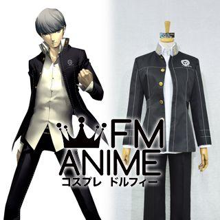 Shin Megami Tensei: Persona 4 Narukami Yu Uniform Cosplay Costume (Female M)