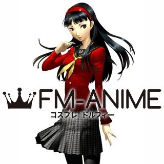 Shin Megami Tensei: Persona 4 Yukiko Amagi Uniform Cosplay Costume
