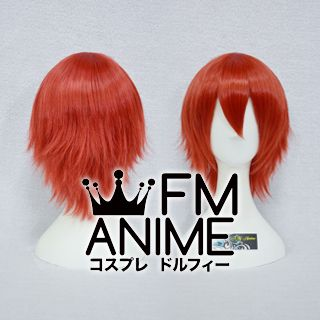 Short Layered Red Cosplay Wig