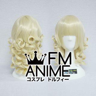 Short Wavy Light Gold Cosplay Wig
