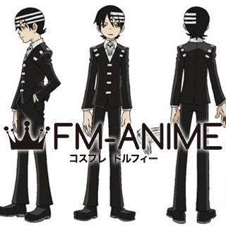 Soul Eater Death the Kid Cosplay Costume