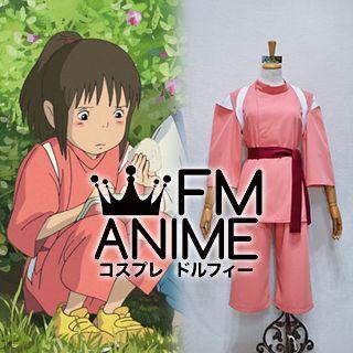 Spirited Away Chihiro Ogino Cosplay Costume