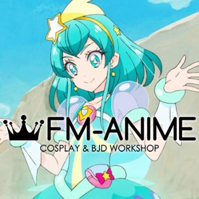 Star☆Twinkle Pretty Cure Cure Milky Cosplay Wig