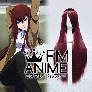 Steins;Gate Kurisu Makise Anime Version Cosplay Wig