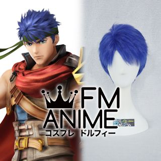 Fire Emblem: Radiant Dawn / Super Smash Bros. 4 Ike Cosplay Wig