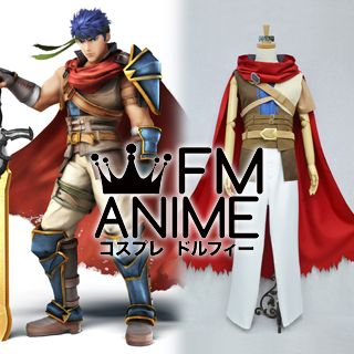 Fire Emblem: Radiant Dawn / Super Smash Bros. 4 Ike Cosplay Costume