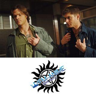 Supernatural (U.S. TV series) Dean & Sam Winchester Cosplay Tattoo Stickers