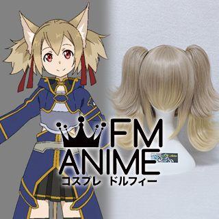 Sword Art Online 2 Silica / Keiko Ayano (ALfheim Online, ALO) Cosplay Wig