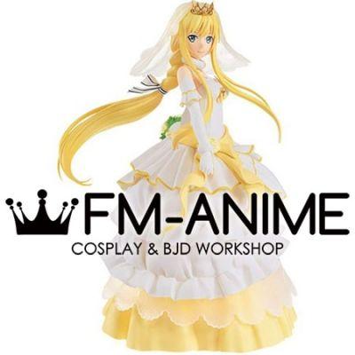 Sword Art Online: Code Register Alice Zuberg Wedding Dress Ver. Cosplay Costume