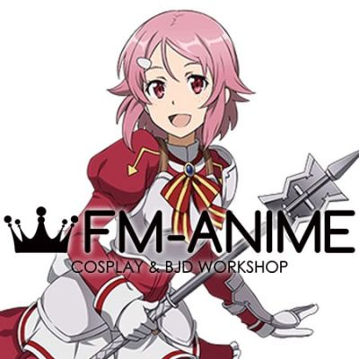 Sword Art Online Lisbeth Shinozaki Rika Cosplay Wig