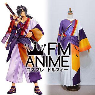 Tales of Berseria (Series) Rokurou Rangetsu Kimono Cosplay Costume