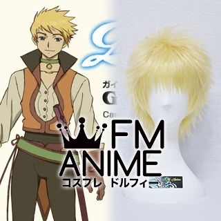 Tales of the Abyss (series) Guy Cecil Cosplay Wig