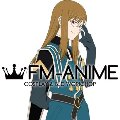 Tales of the Abyss (series) Jade Curtiss Cosplay Wig