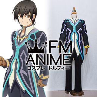 Tales of Xillia (series) Jude Mathis Black Cosplay Costume