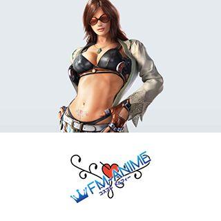 Tekken 7 Katarina Alves Cosplay Tattoo Stickers