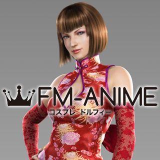 Tekken Tag Tournament 2 Anna Williams Cosplay Wig