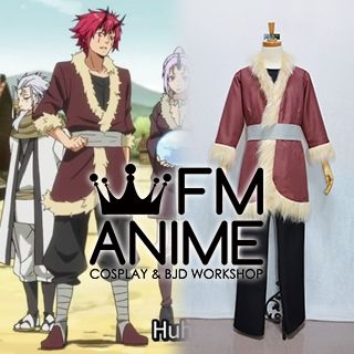 That Time I Got Reincarnated as a Slime Flare Lord Benimaru Cosplay Costume